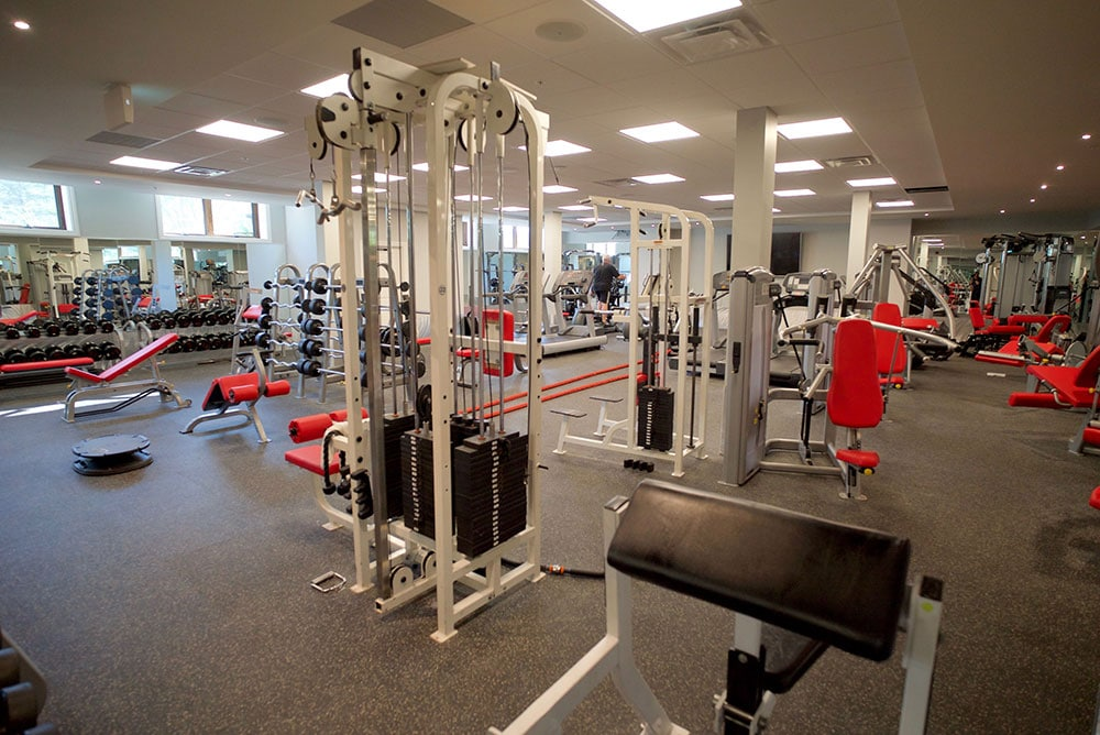 The Pine Room fitness centre